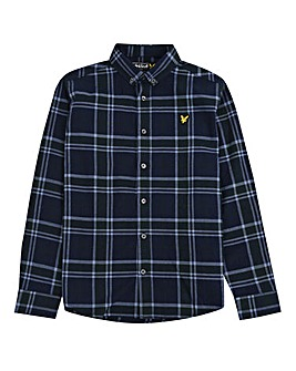 Lyle & Scott Boys Check Flannel Shirt