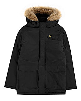 Lyle & Scott Boys Fleece Lined Parka