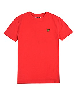 Lyle & Scott Boys Red S/S T-Shirt