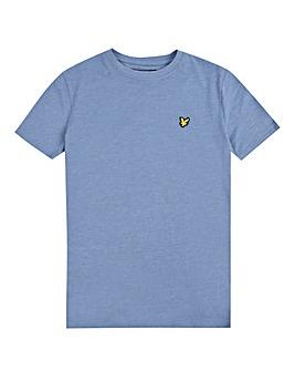 Lyle & Scott Boys Denim Marl S/S T-Shirt
