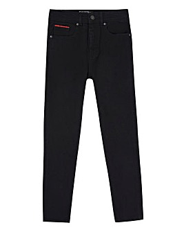 Lyle & Scott Boys Black Skinny Fit Jeans