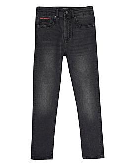 Lyle & Scott Boys Grey Skinny Fit Jeans