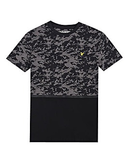 Lyle & Scott Boys AOP Block T-Shirt