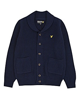 Lyle & Scott Boys Shawl Collar Cardigan