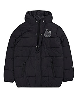 Money Boys Long Length Printed Puffa