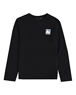 Money Boys Black Block Ape L/S T-Shirt