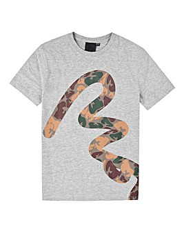Money Boys Big Signature Camo T-Shirt