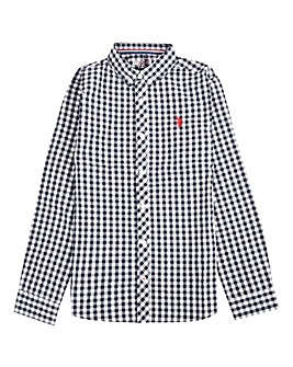 U.S. Polo Assn. Boys Gingham Shirt