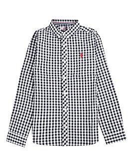 U.S. Polo Assn. Boys Gingham Shirt