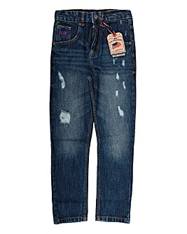 U.S. Polo Assn. Boys Carrot Fit Jeans