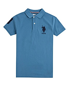 U.S. Polo Assn. Boys Blue DHM Polo