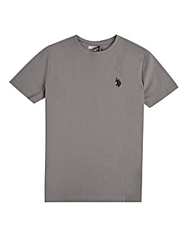 U.S. Polo Assn. Boys Grey Core T-Shirt