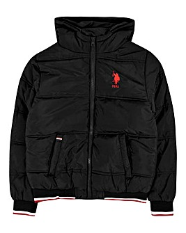 U.S. Polo Assn. Boys Puffa Jacket