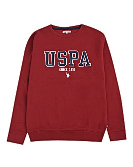 U.S. Polo Assn. Boys BB Crew Sweat
