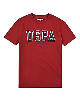 U.S. Polo Assn. Boys Red T-Shirt