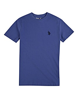 U.S. Polo Assn. Boys Blue Core T-Shirt