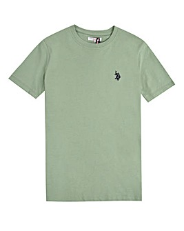 U.S. Polo Assn. Boys Green Core T-Shirt