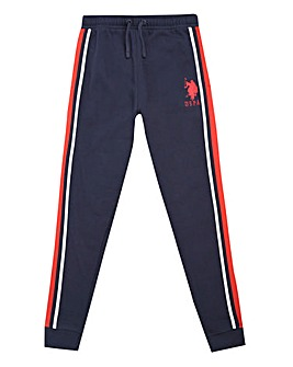 U.S. Polo Assn. Boys Tape Stripe Jogger