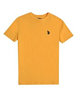 U.S. Polo Assn. Boys Yellow Core T-Shirt