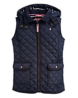Joules Girls Ellen Quilted Gilet