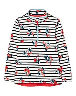 Joules Girls Floral Print Sweatshirt