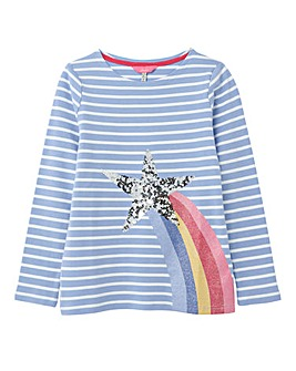 Joules Girls Harbour Luxe L/S T-Shirt