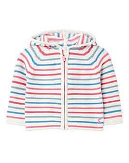 Joules Baby Girls Conway Hooded Knit
