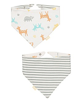 Kite Baby Woodland Reversible Bib