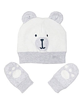 Kite Baby Beary Hat And Mitts