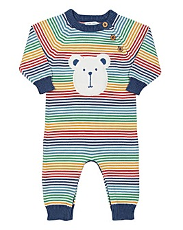 Kite Rainbow Knit Romper