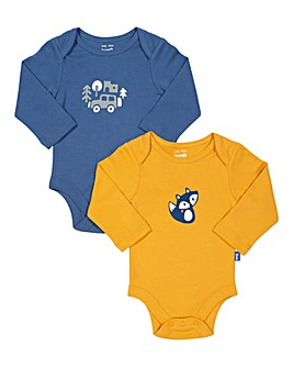 Kite Foxy Pack of Two Bodysuit