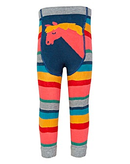 Kite Girls Rainbow Knit Leggings