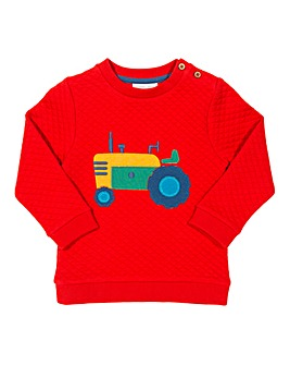Kite Boys Tractor Sweatshirt