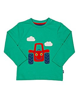 Kite Boys Happy Tractor T-Shirt