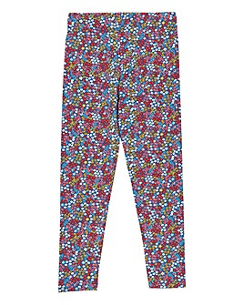 Kite Girls Berry Ditsy Leggings