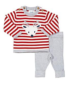 Kite Reindeer Knit Set