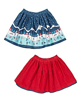 Kite Girls Ice Dance 2-In-1 Skirt
