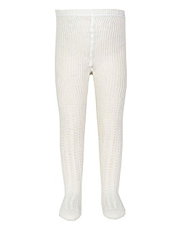 Kite Cable Rib Tights Cream