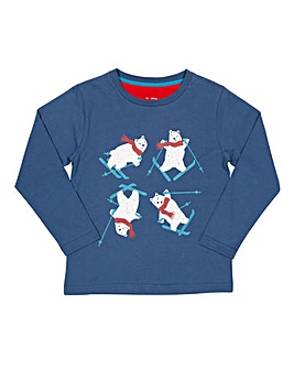Kite Boys Ski Bear T-Shirt