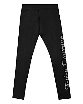 Juicy Couture Girls Black Leggings