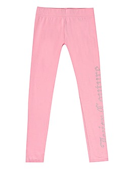 Juicy Couture Girls Pink Leggings