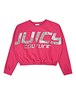 Juicy Couture Girls Foil Branded Sweat