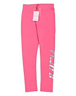 Juicy Couture Girls Pink Brand Leggings