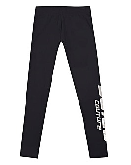 Juicy Couture Girls Black Brand Leggings