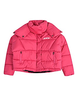 Juicy Couture Girls Batwing Puffa Jacket