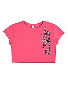 Juicy Couture Girls Cropped T-Shirt