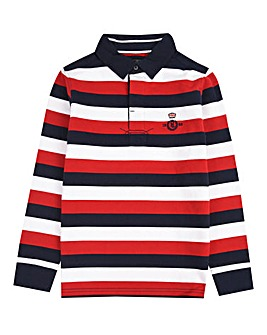 Henri Lloyd Boys Brushed Rugby Shirt