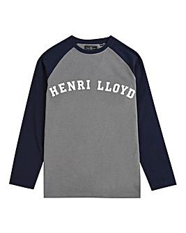 Henri Lloyd Boys L/S Raglan T-Shirt