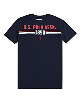 U.S. Polo Assn. Boys Navy Goal T-Shirt