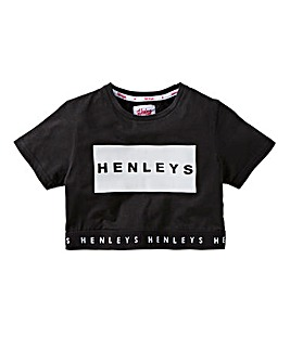 Henleys Girls Cropped T-Shirt